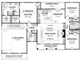 One Story Custom Home Plan Small One Story Cottages Small One Story House Plans