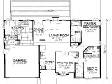 One Story Home Plan Single Story House Plans with A Basement Cottage House Plans