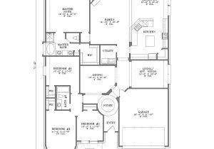 One Story Home Plans 4 Bedroom House Plans One Story Joy Studio Design