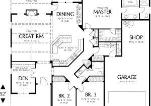 One Story Home Plans Single Story Homes On Pinterest Tile Flooring 3 Car