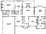 One Story Home Plans with Bonus Room House Plans and Design House Plans Single Story with
