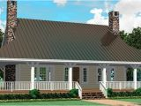 One Story Home Plans with Porches One Story House Plans with Wrap Around Porch Cottage