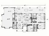 One Story Homes Plans One Story House Plans with Open Floor Plans Design