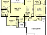 One Story House Plans Under 1600 Sq Ft European Style House Plan 3 Beds 2 00 Baths 1600 Sq Ft