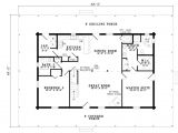 One Story House Plans Under 1600 Sq Ft Log Style House Plan 4 Beds 3 00 Baths 2741 Sq Ft Plan