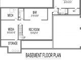 One Story House Plans with Finished Basement 125 One Story House Plans with Finished Basement Single