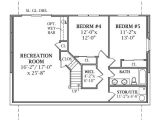 One Story House Plans with Finished Basement Lakeview 2804 3 Bedrooms and 2 Baths the House Designers