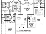 One Story House Plans with Finished Basement One Story House Plans with Finished Basement Luxury Best