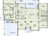 One Story House Plans with Large Kitchens European House Plan 4 Bedrooms 4 Bath 3766 Sq Ft Plan