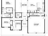 One Story House Plans with No formal Dining Room 1905 Sq Ft the Barrie House Floor Plan total Kitchen