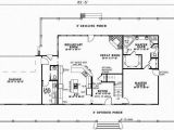 One Story House Plans with No formal Dining Room Country Style House Plans 2851 Square Foot Home 2