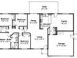 One Story House Plans with No formal Dining Room House Plans without formal Living Room
