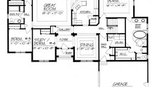 One Story House Plans with No formal Dining Room One Story House Plans without Dining Room Home Deco Plans