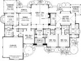 One Story Luxury Home Floor Plans One Story Luxury Living Houseplansblog Dongardner Com