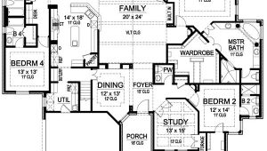 One Story Luxury Home Floor Plans Superb Single Story Luxury House Plans 4 Single Story