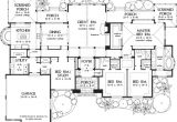One Story Luxury Home Plan Awesome One Story Luxury Home Floor Plans New Home Plans