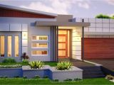One Story Modern Home Plans Single Story Contemporary House Single Story Modern House