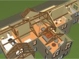 One Story Post and Beam House Plans Post and Beam Single Story Floor Plans