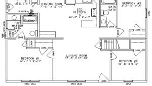 One Story Ranch Style Home Floor Plans Impressive Single Story Ranch Style House Plans 4 Ranch