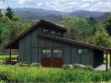 One Story Shed Roof House Plans Country House Plans Barn 20 159 associated Designs