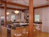 Open Beam House Plans Post and Beam Kitchens with Floor Plans that Work Yankee