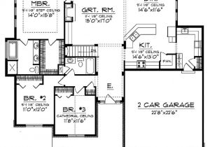 Open Concept Ranch Home Floor Plans Open Concept Floor Plan for Ranch with Spacious Interior