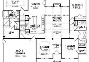 Open Concept Two Story House Plans One Story Open Floor Plans With 4