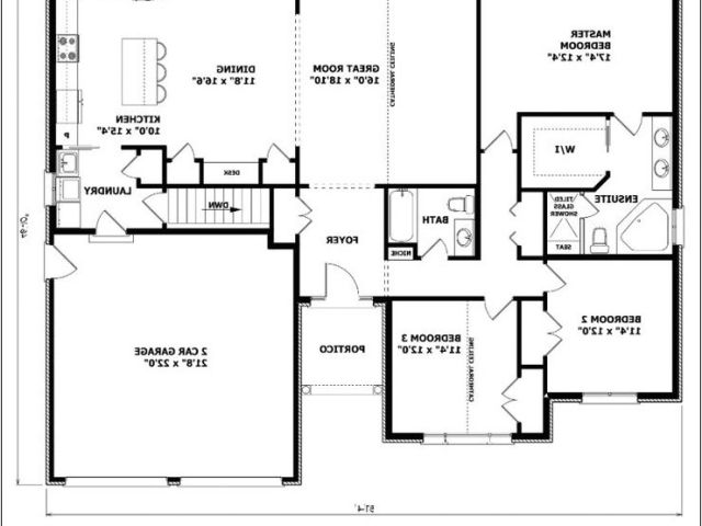 Open Floor House Plans With No Formal Dining Room Plan
