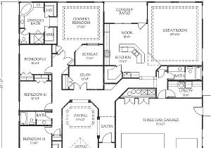 open floor house plans with no formal dining room ranch home plans
