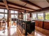 Open Floor Plan Barn Homes A Smaller Post and Beam Mountain Lodge Lives Large