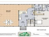 Open Floor Plan Barn Homes Barn Home with Open Floor Plan Horse Barns with Living