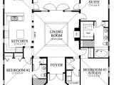 Open Floor Plan Cracker Style Home House Plan Chp 39722 at Coolhouseplans Com