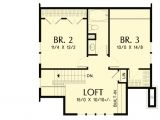 Open Floor Plan Homes with Loft Bungalow with Open Floor Plan Loft 69541am
