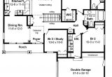 Open Home Floor Plans House Plans Open Floor Plan Picture Cottage House Plans
