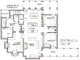 Open Home Floor Plans Modern Open Concept House Plans