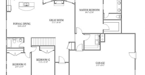 Open Home Floor Plans Simple Open House Plans Smalltowndjs Com