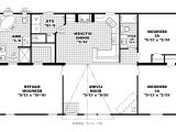 Open Plan Homes Floor Plan 1 Story Open Floor Home Plans
