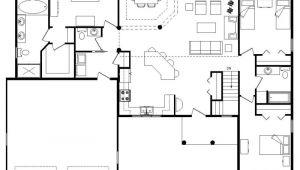 Open Plan Homes Floor Plan Best Open Floor House Plans Cottage House Plans