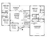Open Plan Homes Floor Plan Best Open Floor House Plans Cottage House Plans