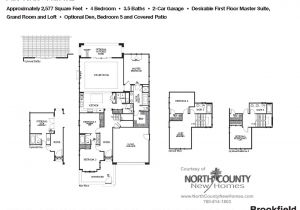 Palo Verde Homes Floor Plans New Homes In Carlsbad Palo Verde Plan 1xb 2 577 Sq Ft