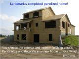 Panelized Home Plans Panelized Homes Landmark Home and Land Company