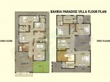 Paradise Homes Floor Plans Bahria Paradise Villas Current Rates and Floor Plan