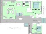 Paradise Homes Floor Plans Floor Plan Of Bird Paradise Vacation Rental Home In Poipu