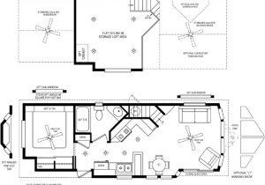 Park Model Homes Floor Plans Cabin Loft Rv 39 S Cavco Park Models