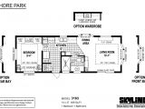 Park Model Mobile Home Floor Plan Shore Park 3163 by Skyline Homes Park Models