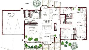 Passive solar Home Designs Floor Plan Luxury Passive solar Ranch House Plans New Home Plans Design