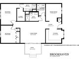 Patio Home Floor Plans Free Brookhaven Patio Home Floor Plans