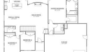 Patio Home Plans Open Floor Plans Open Floor Plans Patio Home Plan