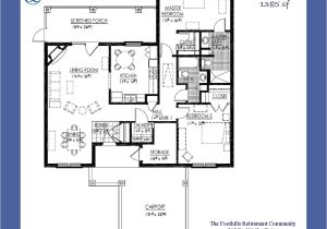 Patio Homes Floor Plans Elegant Patio Home Floor Plans Free New Home Plans Design