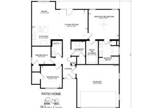 Patio Homes Floor Plans Floorplans within Patio Home Plans thehomelystuff
